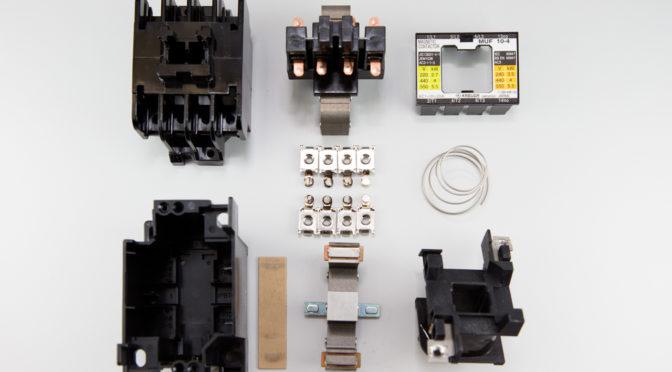 マグネットスイッチ(電磁開閉器)の仕組み 春日電機 MUF10-4