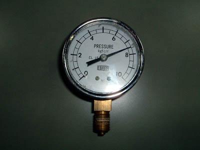 圧力計 正面