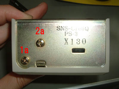 saginomiya サギノミヤ SNS-C106 圧力スイッチ 上面