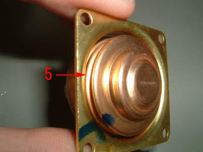 saginomiya サギノミヤ SNS-C106 圧力スイッチ 圧力検出部 隔膜