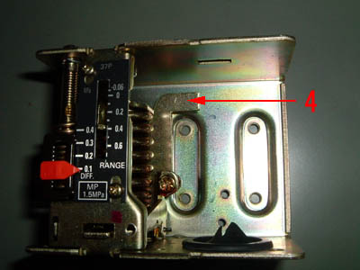 saginomiya サギノミヤ SNS-C106 圧力スイッチ スイッチ部取外し後