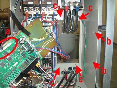 テラル SX-VFC 制御基板 取外し