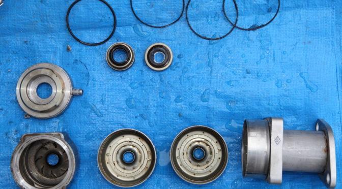 荏原製作所 増圧給水ポンプ40MVFA302.2の修理