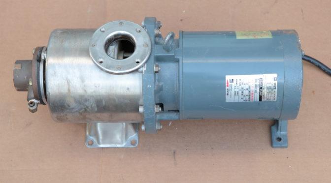 荏原製作所ポンプ 40MDPF352.2 修理は可能か?