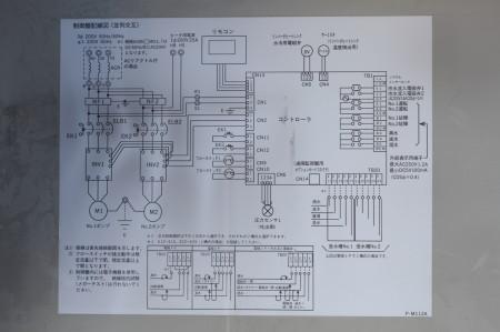 制御盤配線図(並列交互)