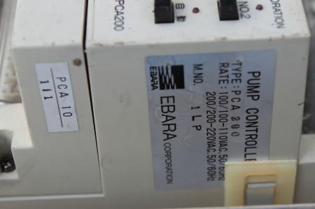 ポンプコントローラ銘板 PCA200
