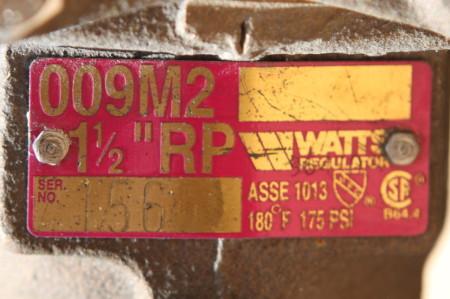 銘板 WATTS 009M2