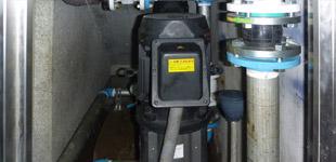 荏原製作所 65EVML355.5 揚水ポンプ交換