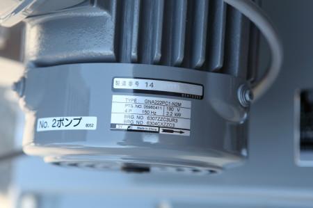 富士電機 PMモータ GNA222PC1-N2M 銘板