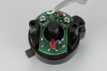 川本製作所 圧力センサー PSR-2.8K-4.9Kカバー取外し後