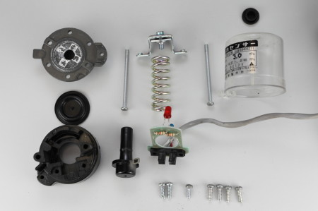 川本製作所 圧力センサー PSR-2.8K-4.9K部品一覧
