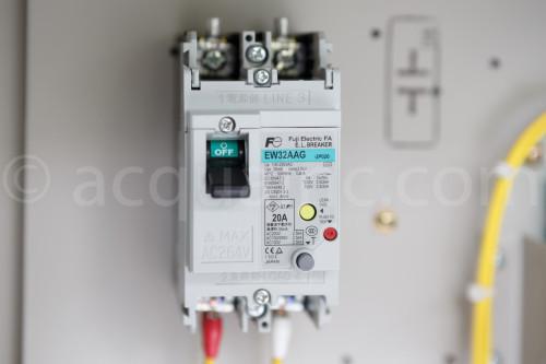 漏電遮断器 富士電機 EW32AAG