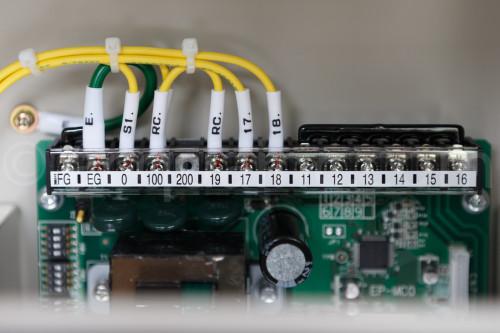 制御盤内結線用端子台