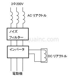 リアクトル配線図