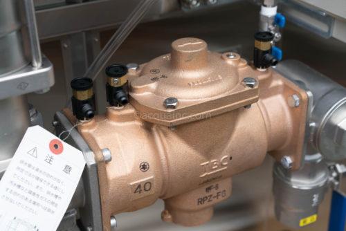 減圧式逆流防止器 タブチ製 RPZ-F6 40A