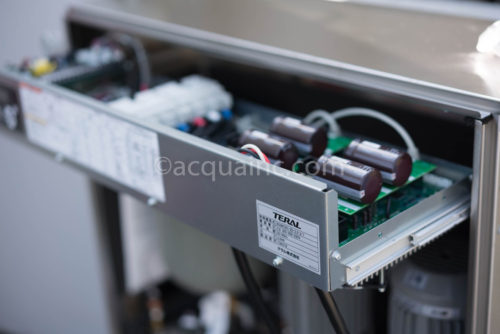 テラル BQMC5C-2D-2.2-2/1 パネル MC5-4040-2.2D 制御盤 引き出した様子