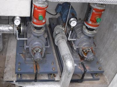 荏原製作所  65MS455.5 揚水ポンプ交換